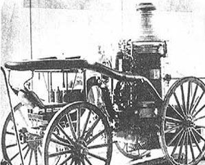 Horse Drawn Steam Pumper Engine