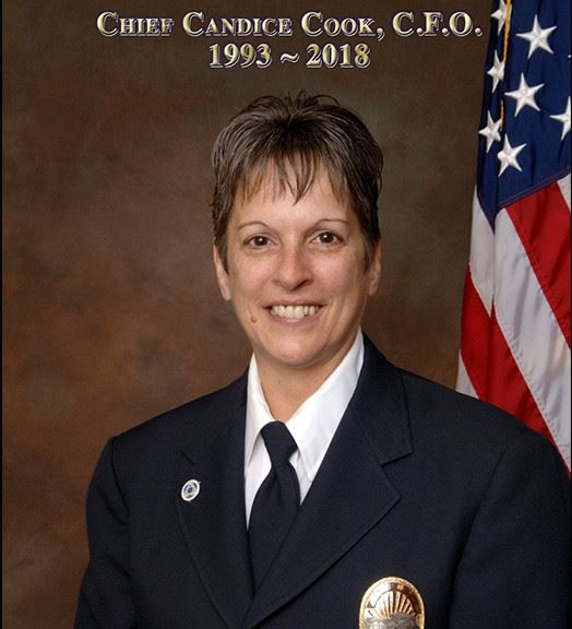 Chief Candice Cook, CFO 1993-2018