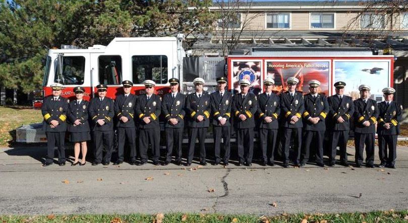 Loveland-Symmes Fire Department Officers in 2009